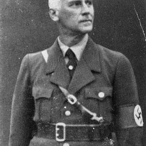 Wilhelm Frick (12 March 1877 – 16 October 1946); IWM HU 7219