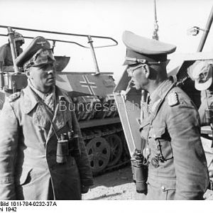 Rommel & Von BISMARCK, Georg (15 February 1891 – 31 August 1942)