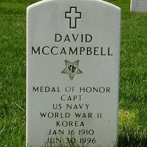 Captain David McCampbell